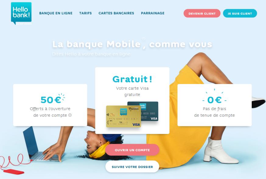 ouvrir compte bancaire en ligne gratuit
