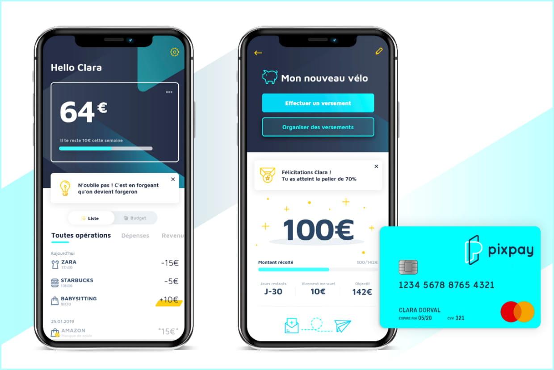 Pixpay avis et présentation de la banque mobile pour ados